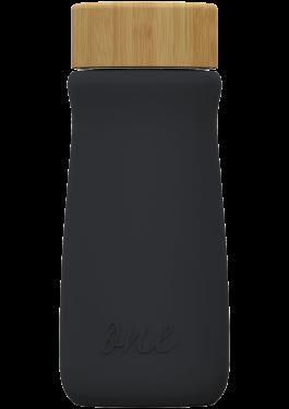 Black mat ONEconic – еко бутилкa от стъкло, 500 мл