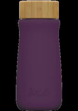 Purple ONEconic – еко бутилкa от стъкло, 500 мл
