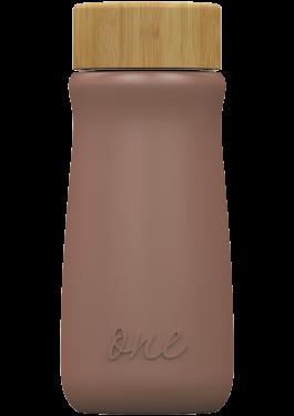 Bronze metallic ONEconic – еко бутилкa от стъкло, 500 мл